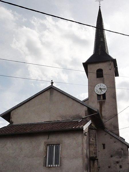 Borville (M-et-M) église
