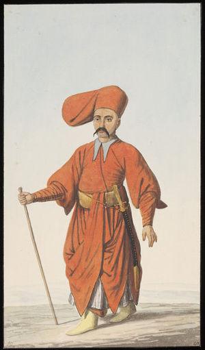 Bostandji - A guard of the Bostandji corps