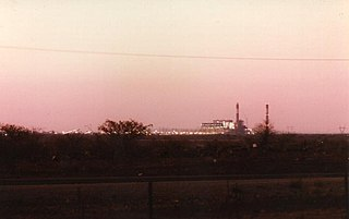 Morupule Thermal Power Station Coal-powered power station in Botswana