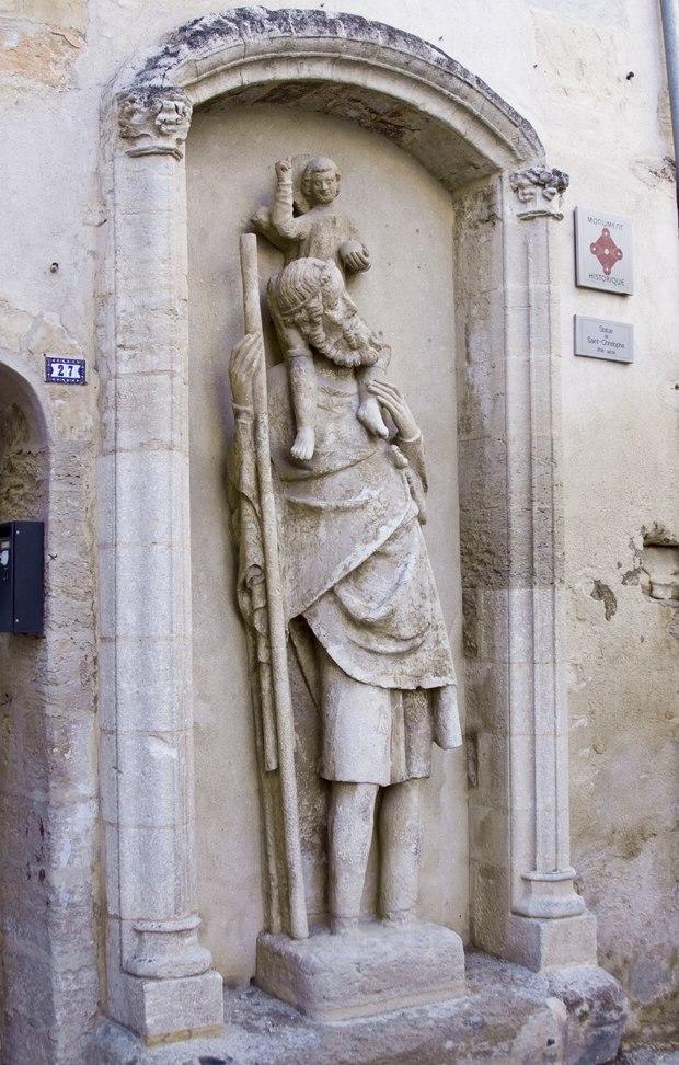 Monument historique à Boulbon