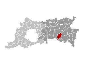 Boutersem - Image: Boutersem Locatie