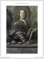 Bowyer Bible Volume 1 Print Print 2. Portrait of Scheuchzer. Heidegger.png