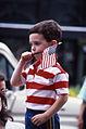 Boy at Faneuil Hall Marketplace, July 4, 1987 (8657140381).jpg