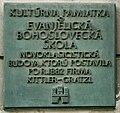 Bratislava tabula evanjelickej bohosloveckej školy.jpg