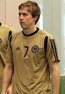 Brian Carroll at Preseason Training for the Philadelphia Union, Jan 2011.jpg
