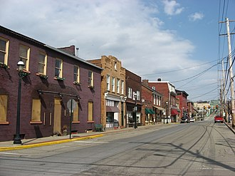 National Register of Historic Places listings in Beaver County, Pennsylvania - Image: Bridge Street, Bridgewater, Pennsylvania