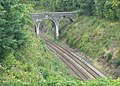Bridge over the North Wales Line. - geograph.org.uk - 1770725.jpg
