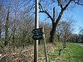 Bridleway sign - geograph.org.uk - 389160.jpg