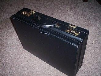 Briefcase - Black briefcase