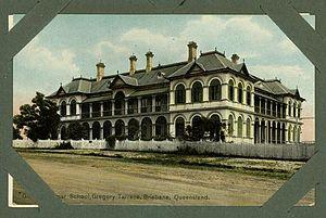 Brisbane Girls Grammar School - Main Building, c1910