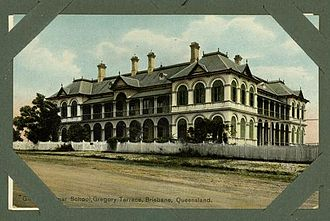 Brisbane Girls Grammar School - Main Building, c1910