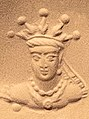 British Museum stamp-seal (Registration number 1870,1210.3) Radiate crown.jpg