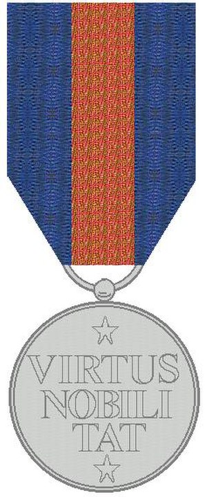 Order of the Netherlands Lion - The Medal for a brother of the order.