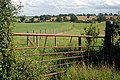 Broken gate and pasture - geograph.org.uk - 1439496.jpg
