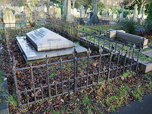 Edmund Leach (British Army officer) - Brompton Cemetery