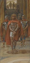 Brooklyn Museum - Jesus Leaves the Praetorium (Jésus quitte le pretoire) - James Tissot.jpg