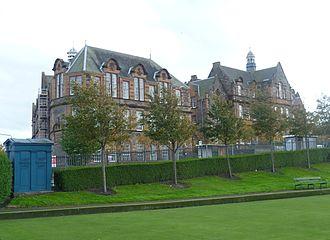 Broughton High School, Edinburgh - The original Broughton, built in 1909