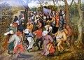 Brueghel der Jüngere, Pieter - Bauernhochzeit (München, Alte Pinakothek).jpg