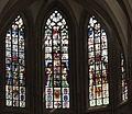 Bruksela, katedra św. Michała i św. Guduli, witraż (Aw58AK).JPG
