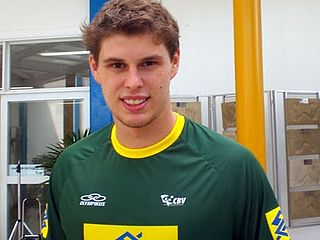 Bruno Rezende Brazilian volleyball player