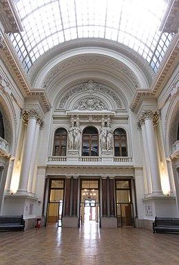 Beurs van brussel wikipedia for Interieur beurs