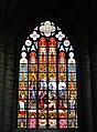 Bruxelles Co-Cathédrale St. Michel & Ste. Gudule Innen Buntglasfenster 09.jpg