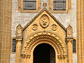 Buckfast Abbey west door.jpg