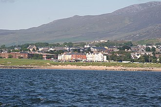 Buncrana - Buncrana as seen from Lough Swilly