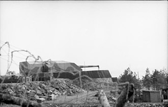 38 cm SK C/34 naval gun - 38 cm turret of Batterie Vara, Kristiansand, Norway