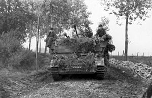 Möbelwagen - Möbelwagen in northern France, June 21, 1944