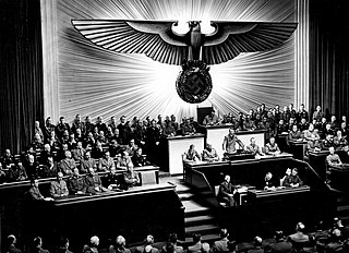 German declaration of war against the United States December 1941 declaration of war from Germany at the USA