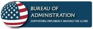 Bureau of Administration - Image: Bureau of Administration logo
