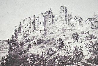 Königsegg - Image: Burg Rothenfels Immenstadt
