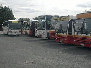 Bus Éireann - Bus Scoile buses in Thurles depot