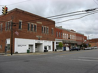 LaRue, Ohio - LaRue's business district