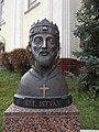 Bust of Stephen I of Hungary, 2019 Isaszeg.jpg