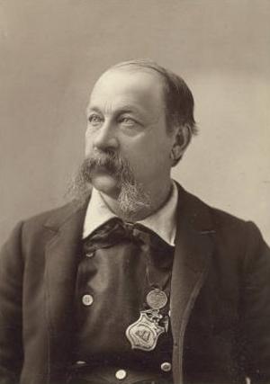 George M. Ottinger - Portrait of George M. Ottinger, by Charles Roscoe Savage.