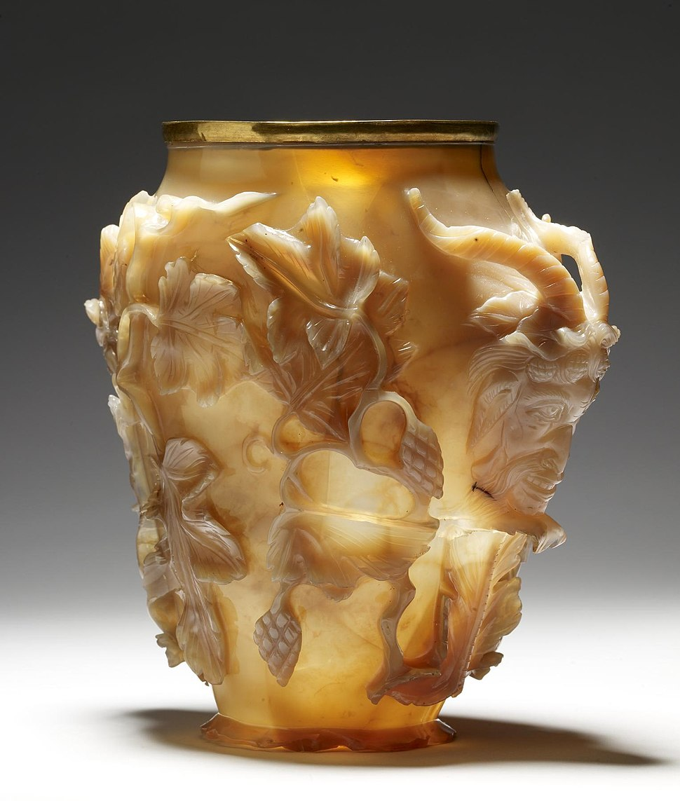 "Byzantine - The ""Rubens Vase"" - Walters 42562 - Three Quarter Left"
