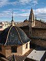Cúpula i pinacle de l'aula capitular, catedral de València.JPG
