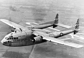 Fairchild C-119 Flying Boxcar - C-119 in flight