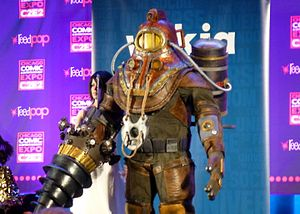 Chicago Comic & Entertainment Expo - Image: C2E2 2014 Contest Big Daddy (14128993273)