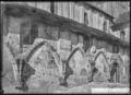 CH-NB - Romainmôtier, Abbatiale, Façade sud, vue partielle - Collection Max van Berchem - EAD-7462.tif