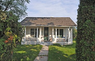 National Register of Historic Places listings in Ravalli County, Montana - Image: CHARLES AMOS BUCK HOUSE, STEVENSVILLE, RAVALLI COUNTY, MONTANA