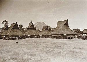 Batak architecture - Karo Batak village