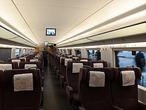 CRH3C First Class Coach 20110401