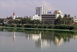 Coimbatore, largest metropolitan city in the region.