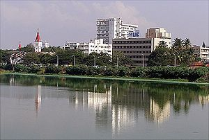 Kongu Nadu - Coimbatore, largest metropolitan city in the region.