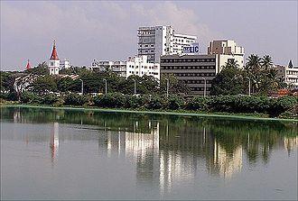 Kongu Nadu - Coimbatore, largest metropolitan city in the region.