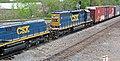 CSX Transportation - 1006 & 2443 diesel locomotives (Marion, Ohio, USA) 3 (43174295052).jpg