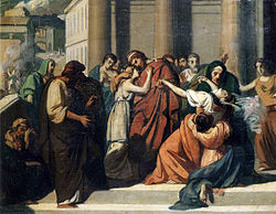 Cabanel Oedipus Separating from Jocasta